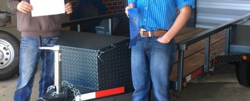 Hallsville FFA Wins Blue Ribbon